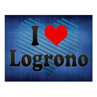 Amo Logrono, España Tarjetas Postales