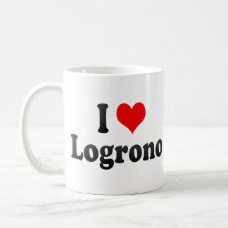Amo Logrono, España Tazas De Café