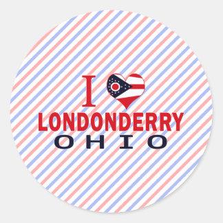 Amo Londonderry Ohio Etiqueta