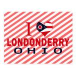 Amo Londonderry, Ohio Tarjetas Postales