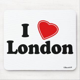 Amo Londres Alfombrilla De Ratones