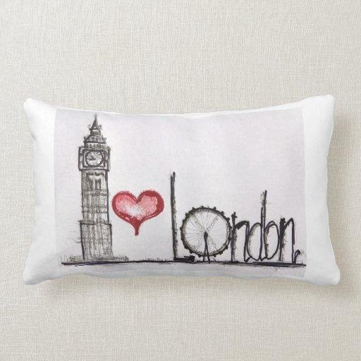 Amo Londres Cojines