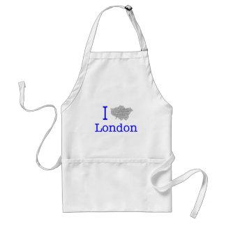 Amo Londres Delantales