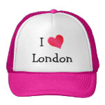 Amo Londres Gorros Bordados