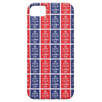 Amo Londres - guarde la calma Funda Para iPhone SE/5/5s