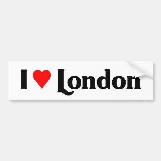 Amo Londres Pegatina Para Auto