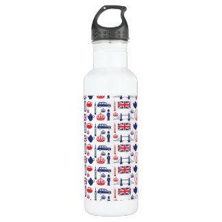 Amo Londres - todo Londres Botella De Agua De Acero Inoxidable