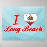 Amo Long Beach, California Impresiones