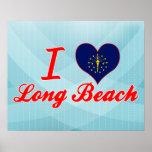 Amo Long Beach, Indiana Posters