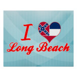 Amo Long Beach, Mississippi Posters