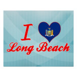 Amo Long Beach, Nueva York Posters
