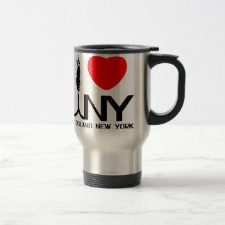 Amo Long Island NY Taza Térmica