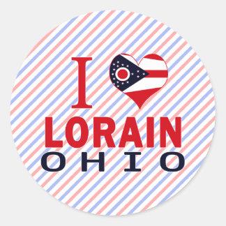 Amo Lorain Ohio Pegatinas