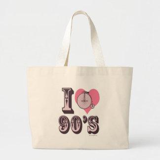 Amo los 1890s bolsas