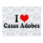 Amo los adobes de los Casas, Estados Unidos Tarjetas Postales