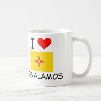 Amo Los Alamos New México Tazas De Café