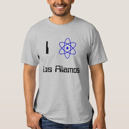 Amo Los Alamos Playeras