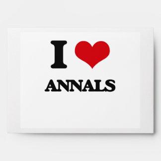 Amo los anales sobres