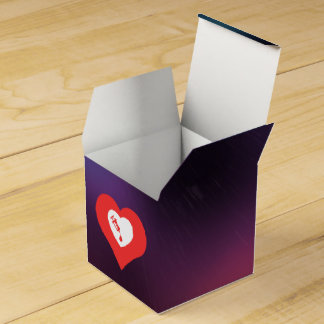 Amo los análisis de sangre modernos cajas para regalos de boda