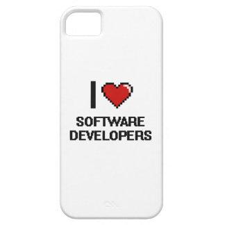Amo los analistas de programas informáticos funda para iPhone 5 barely there