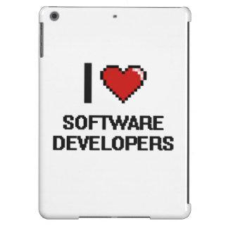 Amo los analistas de programas informáticos funda para iPad air
