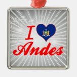 Amo los Andes, Nueva York Ornatos