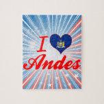 Amo los Andes, Nueva York Puzzle Con Fotos