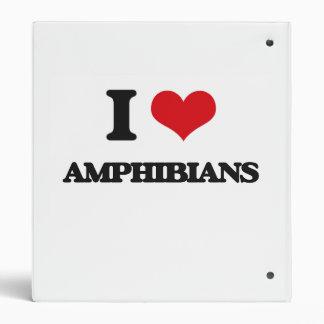 Amo los anfibios