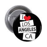 Amo Los Ángeles CA Pins