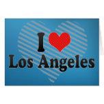 Amo Los Ángeles Felicitación