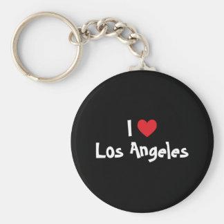 Amo Los Ángeles Llavero Redondo Tipo Pin