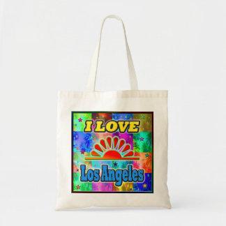 AMO Los Ángeles Sun y el bolso de las palmas