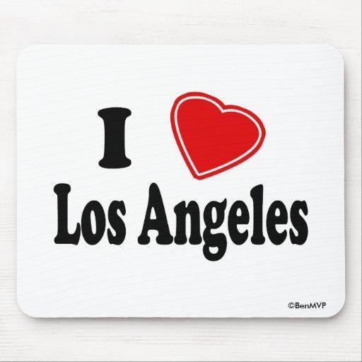 Amo Los Ángeles Tapete De Ratón