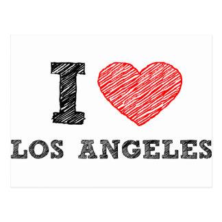 Amo Los Ángeles Postal
