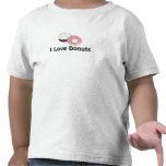 Amo los anillos de espuma camisetas