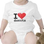 Amo los anillos de espuma infantiles traje de bebé