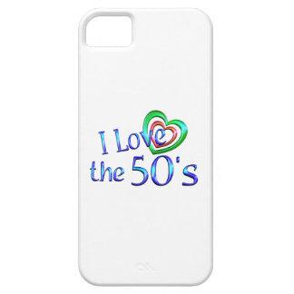Amo los años 50 iPhone 5 cárcasa