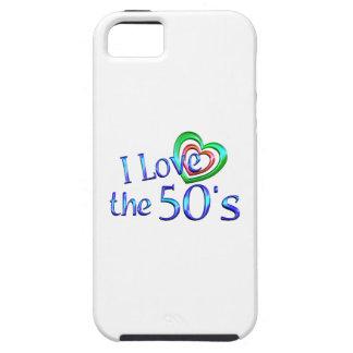 Amo los años 50 iPhone 5 carcasas