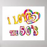 Amo los años 50 poster