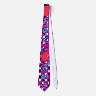 ¡Amo los años 80! Corbata Personalizada