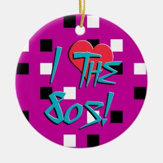 ¡Amo los años 80! Adorno Para Reyes