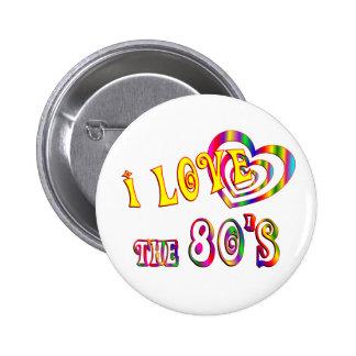 Amo los años 80 pins