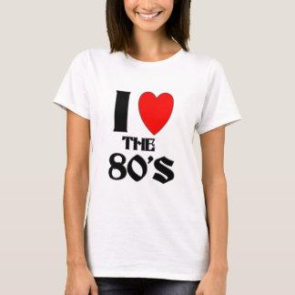 amo los años 80 playera