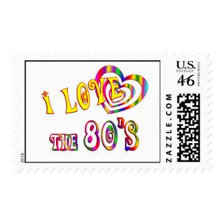 Amo los años 80 franqueo