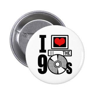 Amo los años 90 pin
