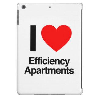 amo los apartamentos de eficacia funda para iPad air