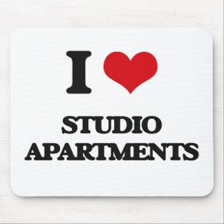Amo los apartamentos-estudios alfombrilla de ratón