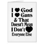 Amo los armas del amor de Dios-Yo Tarjeton