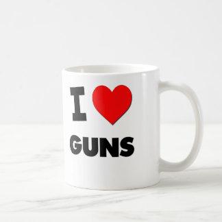 Amo los armas tazas