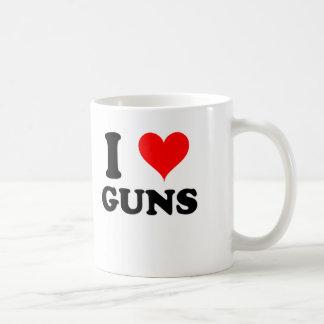 Amo los armas tazas de café